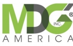 Mdg America White Space Logo